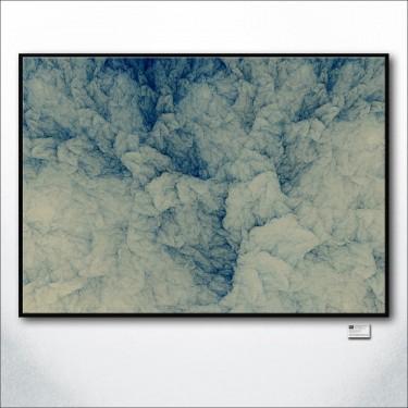 Blue Ink Paper